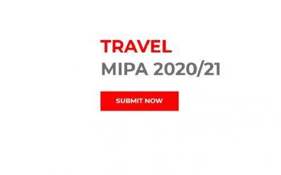 MIPA Travel Award 2020/21 -ultimile 3 zile în care puteți participa